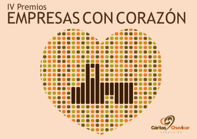 """Premios """"Empresas con Corazón"""" de Fundación Cáritas Chavicar"""