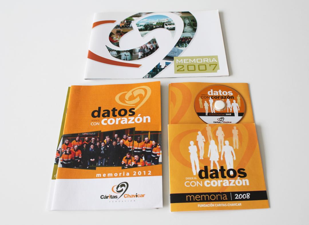 Desde 2008 se elabora la memoria de Fundación Cáritas Chavicar