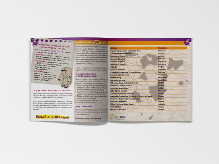 Imagen de las páginas interiores del catálago