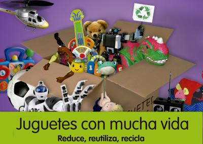 Campaña de reciclaje de juguetes de Aeress