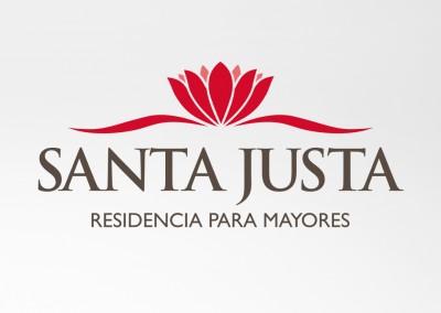 Manual de imagen corporativa de Residencia Santa Justa