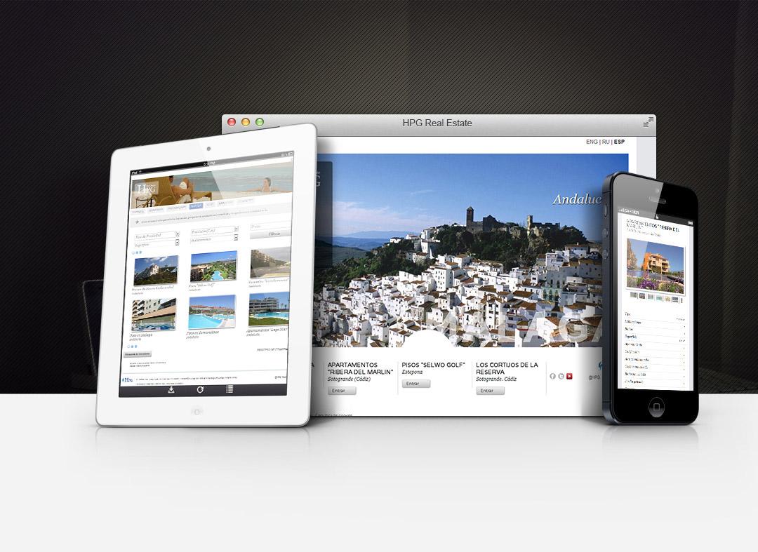 Communicadia desarrolla la página web de HPG Real Estate