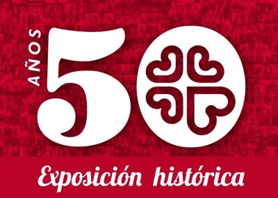 Exposición histórica de Cáritas La Rioja y Fundación Cáritas Chavicar