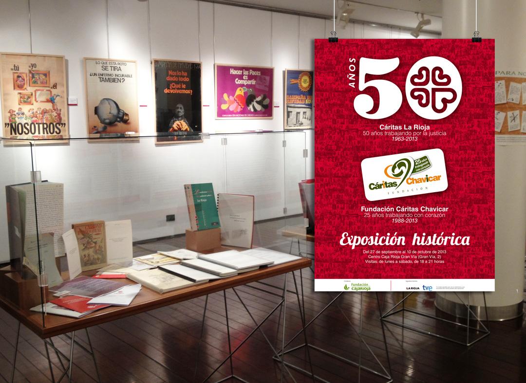 Exposición-histórica-conmemorativa-de-Cáritas-y-Chavicar