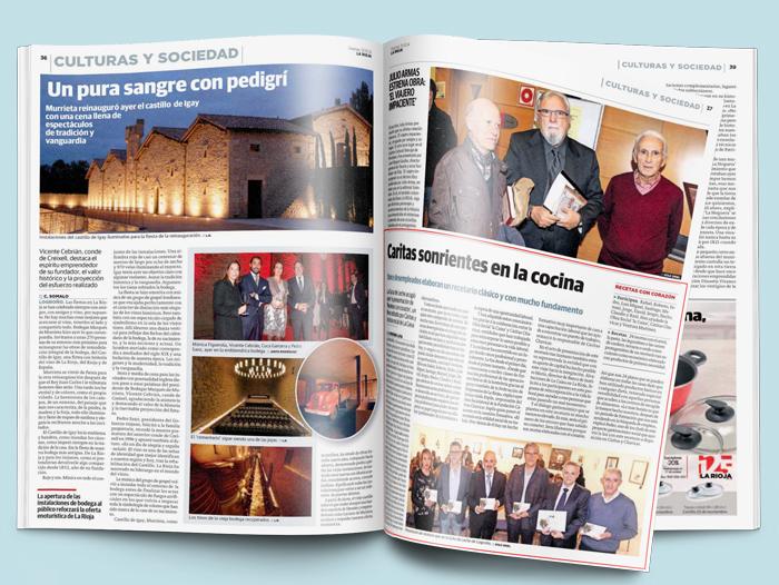 Noticia en Diario La Rioja