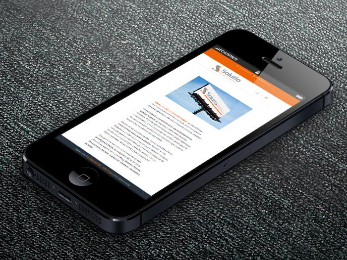 La web está adaptada para dispositivos móviles
