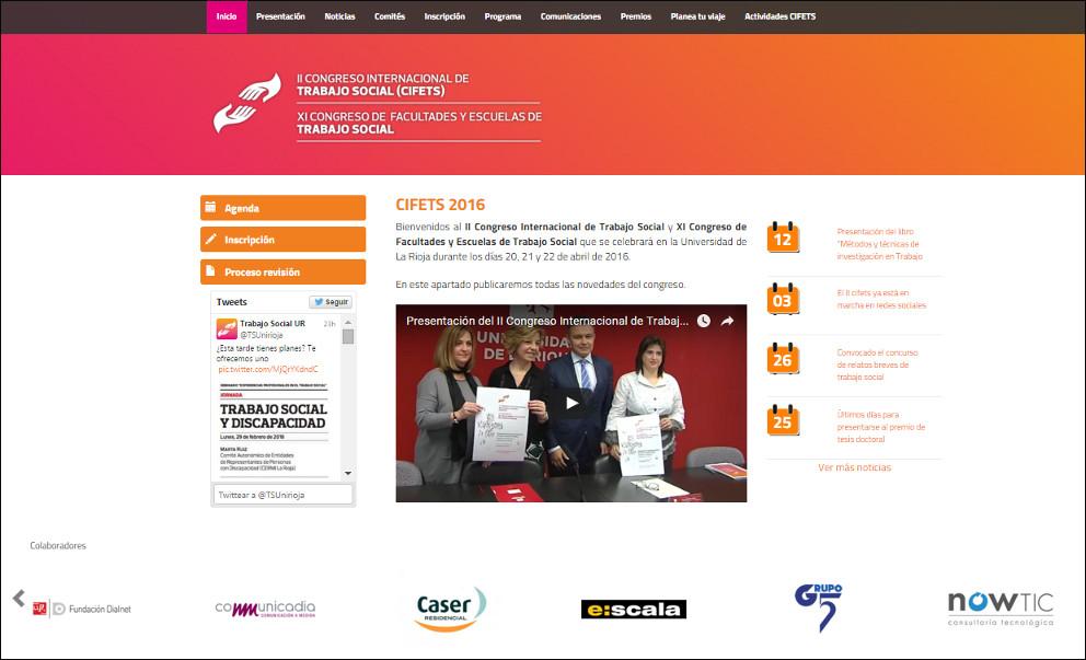 Communicadia colabora con el II Congreso Internacional de Trabajo Social en la UR