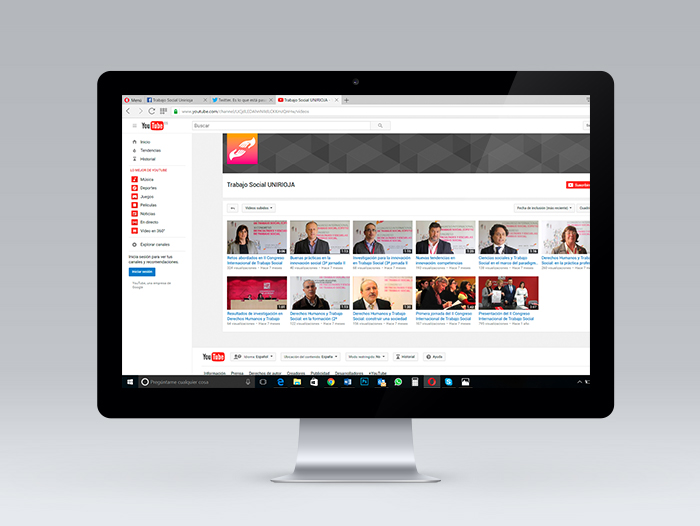 En YouTube se creó un canal específico para recopilar y difundir los vídeos-resumen del II CIFETS