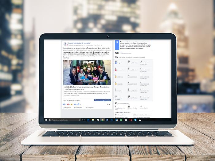 Se genera una activa comunidad en Facebook que interactúa en cada publicación