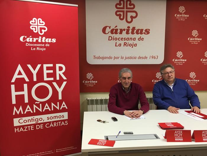La campaña institucional de Cáritas La Rioja fue presentada ante los medios de comunicación