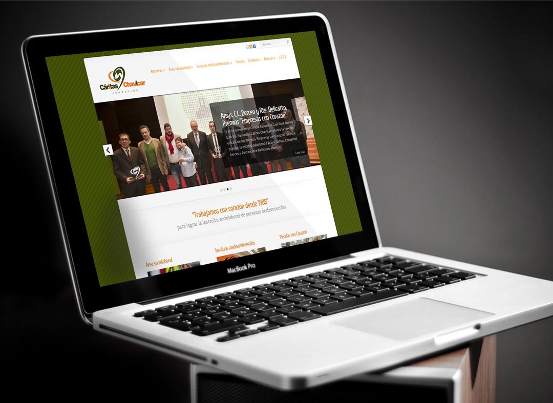Communicadia crea la página web www.chavicar.es