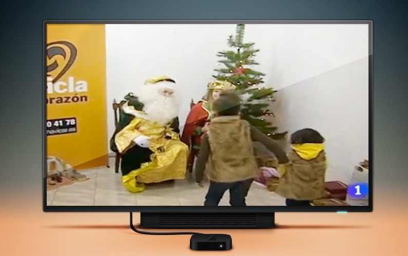 La generosidad de los riojanos en el Telediario de TVE
