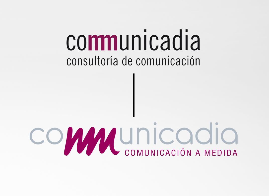 Nuevo logotipo de Communicadia