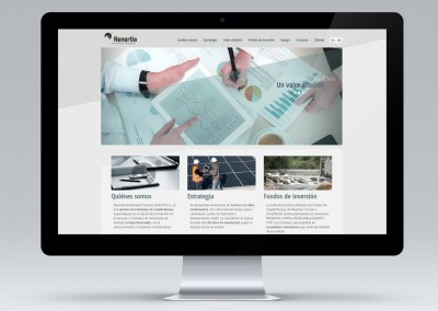 Página web de Renertia