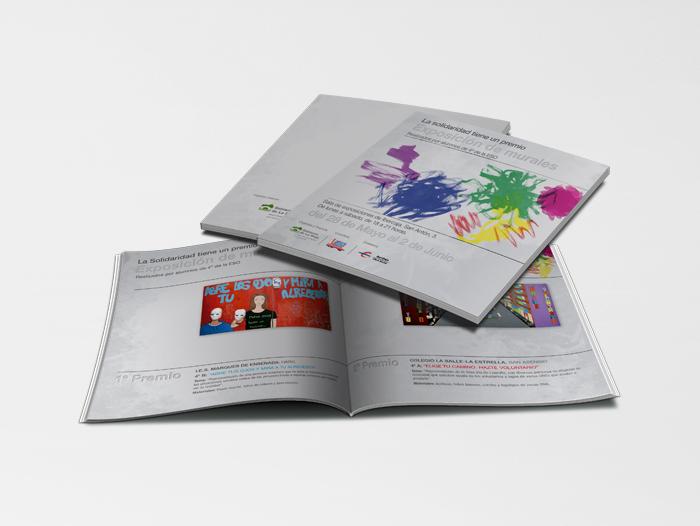 Catálogo con las obras participantes en la edición de 2012