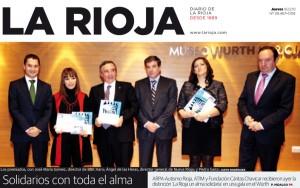 Fundación Cáritas Chavicar, premio La Rioja un alma solidaria