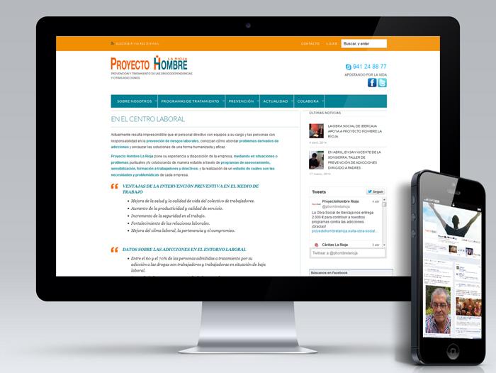 La web y los perfiles en las redes se complementan y retroalimentan