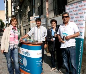 La semana contra las adicciones Proyecto Hombre La Rioja salió a la calle para sensibilizar a la sociedad