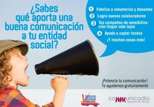 ¿Sabes qué aporta una buena comunicación a tu entidad social?