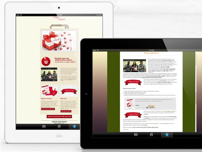 Difusión digital en la web y con mailing