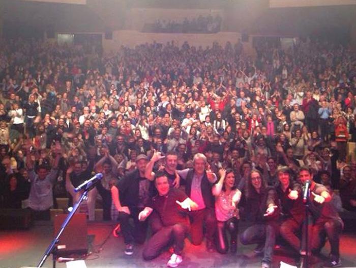 Imagen del Riojaforum el día del concierto