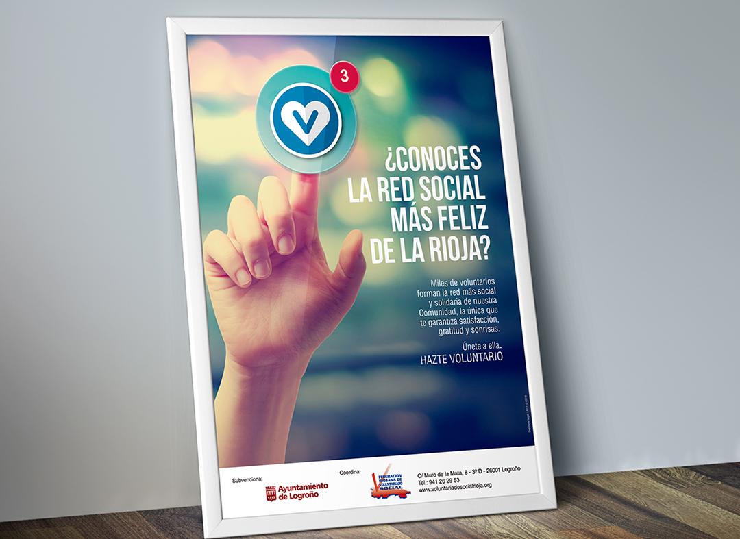 Diseño-cartelería-de-la-Federacion-Riojana-de-Voluntariado-Social