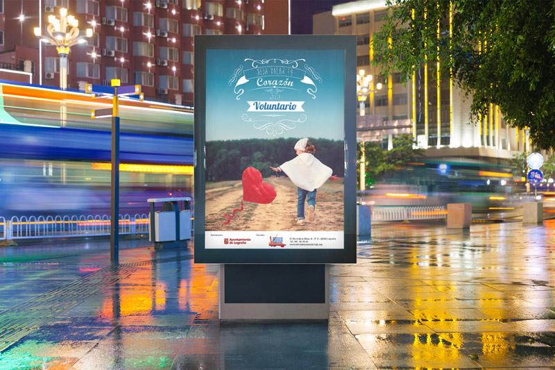 Campaña de sensibilización desarrollada para la FRVS y el Ayuntamiento de Logroño