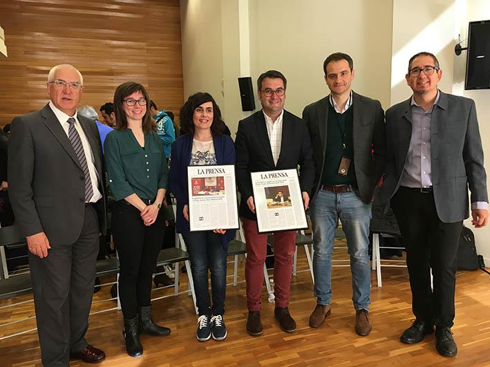 Communicadia recibe el premio Gran Reserva 2016 por su trabajo como gabinete de Comunicación de Cáritas La Rioja