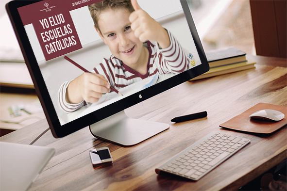 Difusión digital en la web específica de la campaña