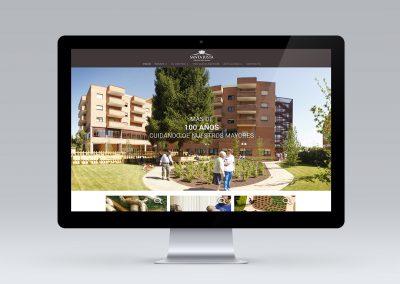 Nueva web para Residencia Santa Justa
