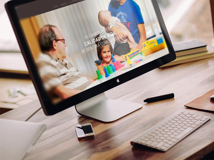 Las imágenes tienen especial protagonismo en la nueva web, se busca una navegación sencilla y clara