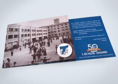 50 aniversario del colegio Rey Pastor