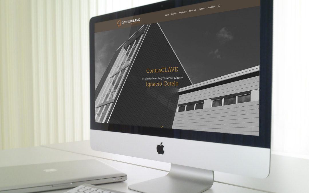 Creación de una página web para Contraclave