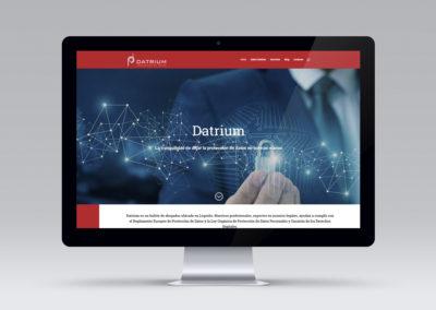 Página web de Datrium
