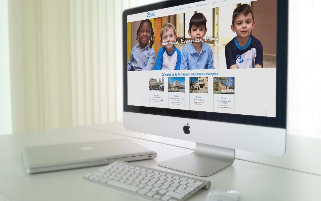 Webs de la Fundación Educativa Escolapias y sus colegios