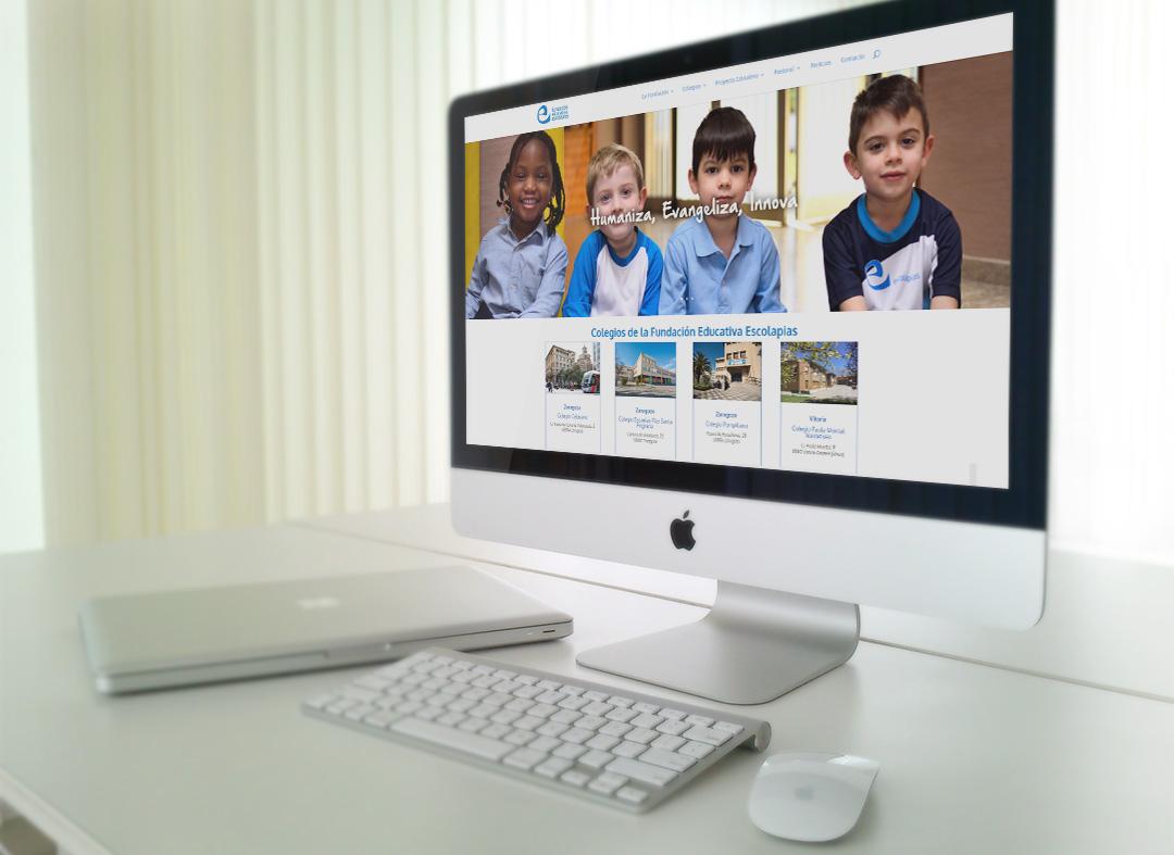 Página web de Fundación Educativa Escolapias